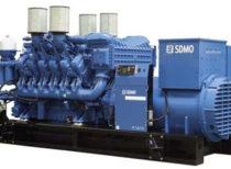 SDMO Стационарная электростанция X1650C