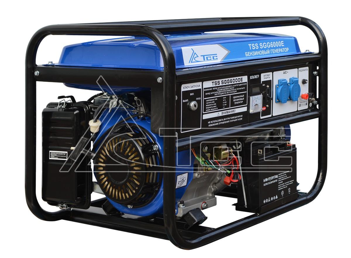 Benzogenerator-TSS-SGG-6000-E