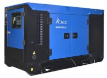 Дизельный генератор ТСС АД-12С-Т400-1РКМ10 в шумозащитном кожухе