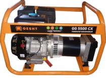 Бензогенератор Gesht GG5500CX