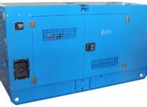 Дизельный генератор ТСС АД-30С-Т400-1РКМ19 в шумозащитном кожухе