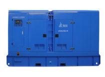 Дизельный генератор ТСС АД-400С-Т400-1РКМ11 в шумозащитном кожухе