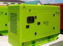 300 кВт в евро кожухе SHANGYAN (дизельный генератор АД 300)