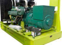 640 кВт открытая RICARDO (дизельный генератор АД 640)