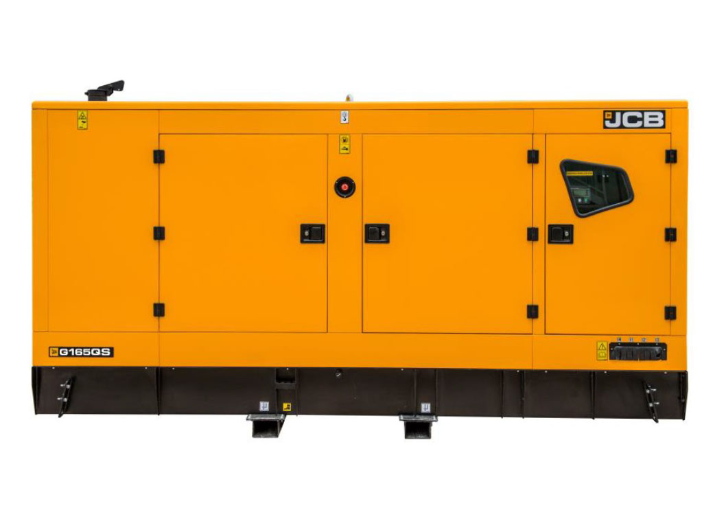 Дизельный генератор JCB G165QS