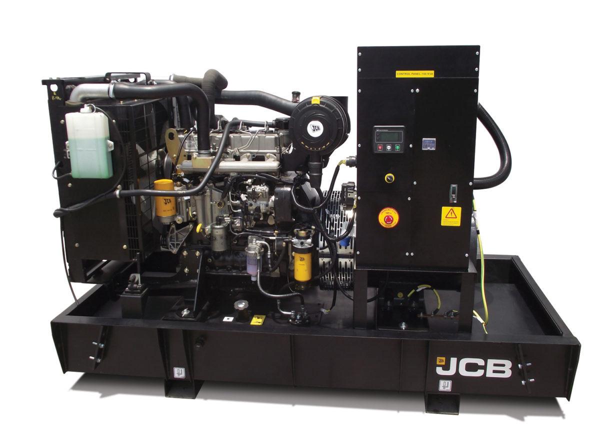 Дизельный генератор JCB G220S – 160 кВт