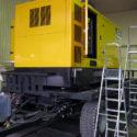Дизельный генератор JCB G415QS на прицепе