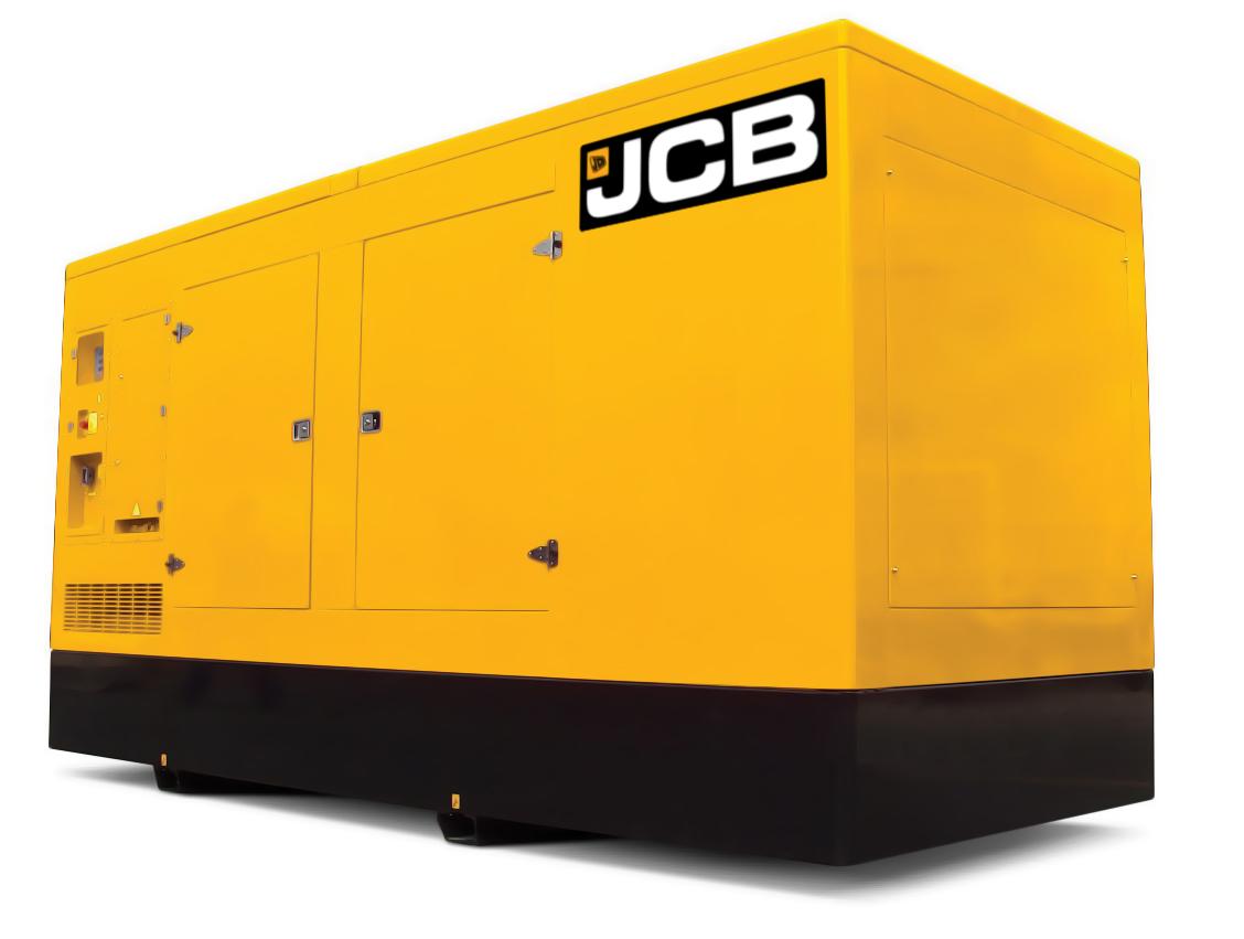 Дизельный генератор JCB G550QS – 400 кВт