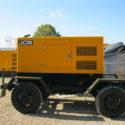 Дизельный генератор JCB G550QS на прицепе