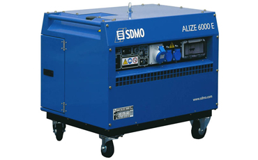 SDMO Портативная электростанция ALIZE 6000E
