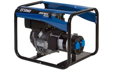 SDMO Портативная электростанция Diesel 4000