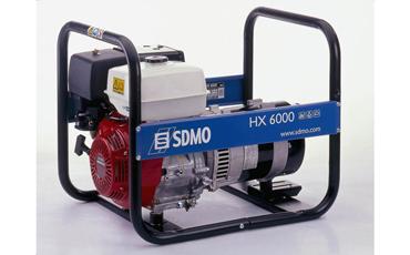 SDMO Портативная электростанция HX 6000C
