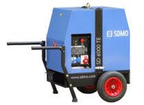 SDMO Портативная электростанция SD 6000TE XL