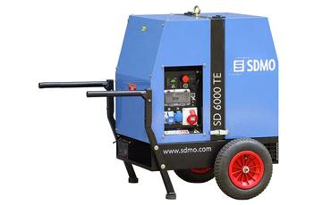 SDMO Портативная электростанция SD 6000TE2