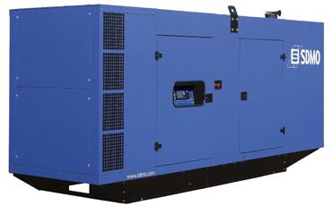 SDMO Стационарная электростанция D550 в кожухе