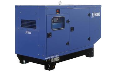 SDMO Стационарная электростанция J110C2  в кожухе