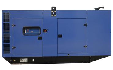 SDMO Стационарная электростанция J300K в кожухе