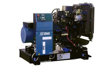 SDMO Стационарная электростанция J33