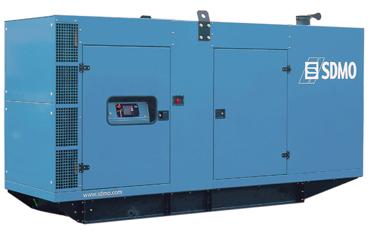 SDMO Стационарная электростанция J400K в кожухе