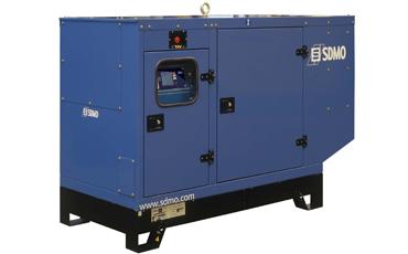 SDMO Стационарная электростанция J88K в кожухе
