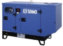 SDMO Стационарная электростанция T12KM в кожухе
