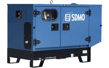 SDMO Стационарная электростанция T6KM в кожухе