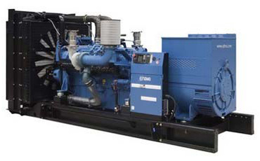 SDMO Стационарная электростанция X1000C
