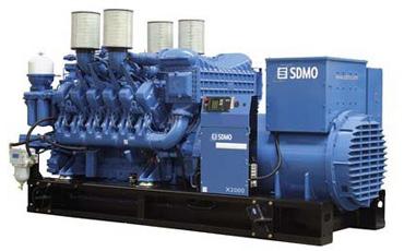 SDMO Стационарная электростанция X2000