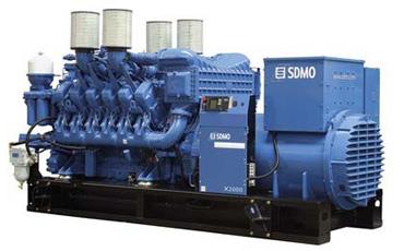 SDMO Стационарная электростанция X2000C