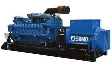 SDMO Стационарная электростанция X3100C