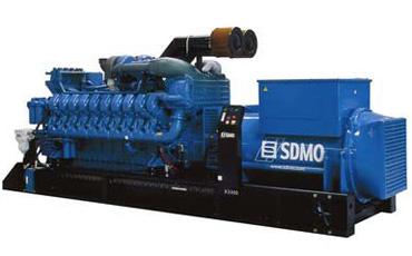 SDMO Стационарная электростанция X3300