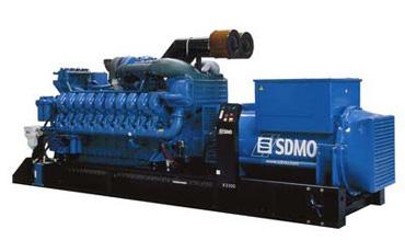 SDMO Стационарная электростанция X3300C