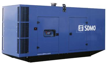 SDMO Стационарная электростанция X550C3 в кожухе
