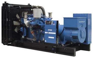 SDMO Стационарная электростанция X880
