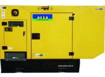 Дизельный генератор AKSA APD-90A (в кожухе)