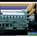 Дизельный генератор Aksa AC-1650М