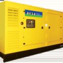 Дизельный генератор Aksa AD 275 в кожухе