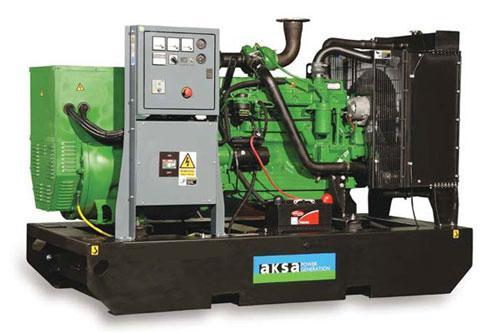 Дизельный генератор Aksa AJD-275 на 250кВа