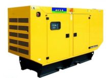 Дизельный генератор Aksa AJD-33 в кожухе