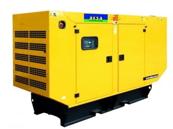 Электрогенератор Aksa AJD-132 в кожухе