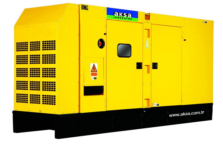дизельный генератор AKSA AC-350 (в кожухе)