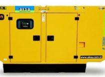 дизельный генератор AKSA AC-66 (в кожухе)