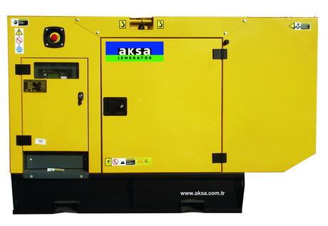 дизельный генератор AKSA APD-20A (в кожухе)