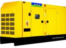 дизельный генератор AKSA APD-250A (в кожухе)