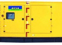 дизельный генератор AKSA APD-500C (в кожухе)