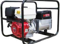 Генератор бензиновый сварочный EUROPOWER EP 200 Х DC 3X230V для ж/д