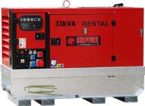 Генератор дизельный Europower EPSR 34 TDE