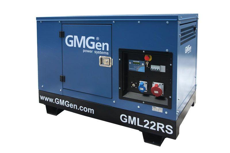 Дизельный генератор GMGen GML22RS (Италия)