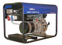 Дизельный генератор GMGen GMY7000TLX (Италия)