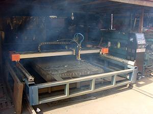 Машина термической обработки металла газоплазменной резки HCZ-2200×6000